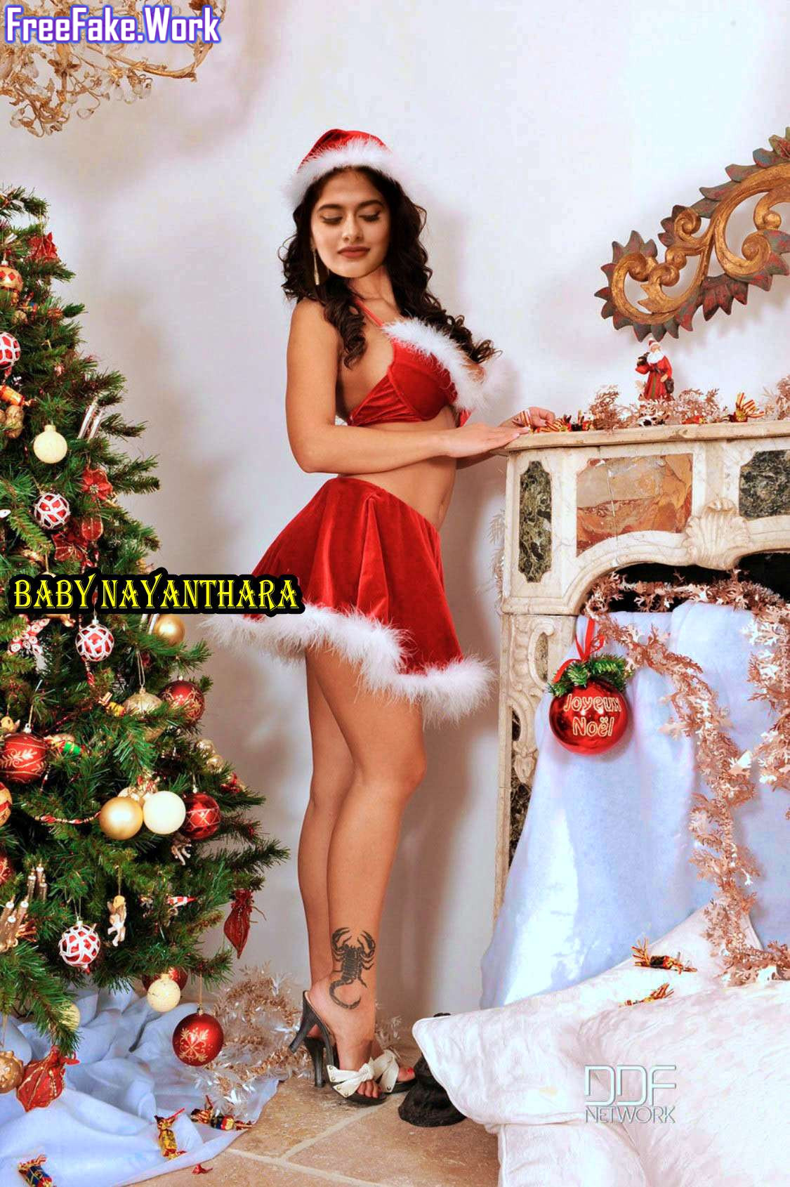 Baby-Nayanthara-sexy-Christmas-special-hot-mini-skirt.jpg