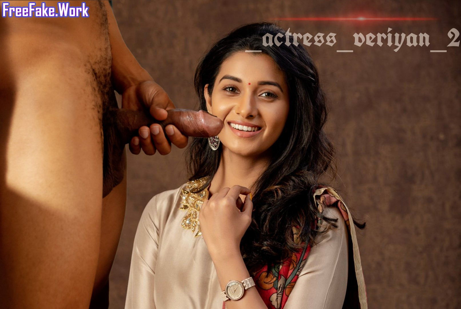 Priya-Bhavani-Shankar-sucking-nude-cock-in-birthday-dress.jpg