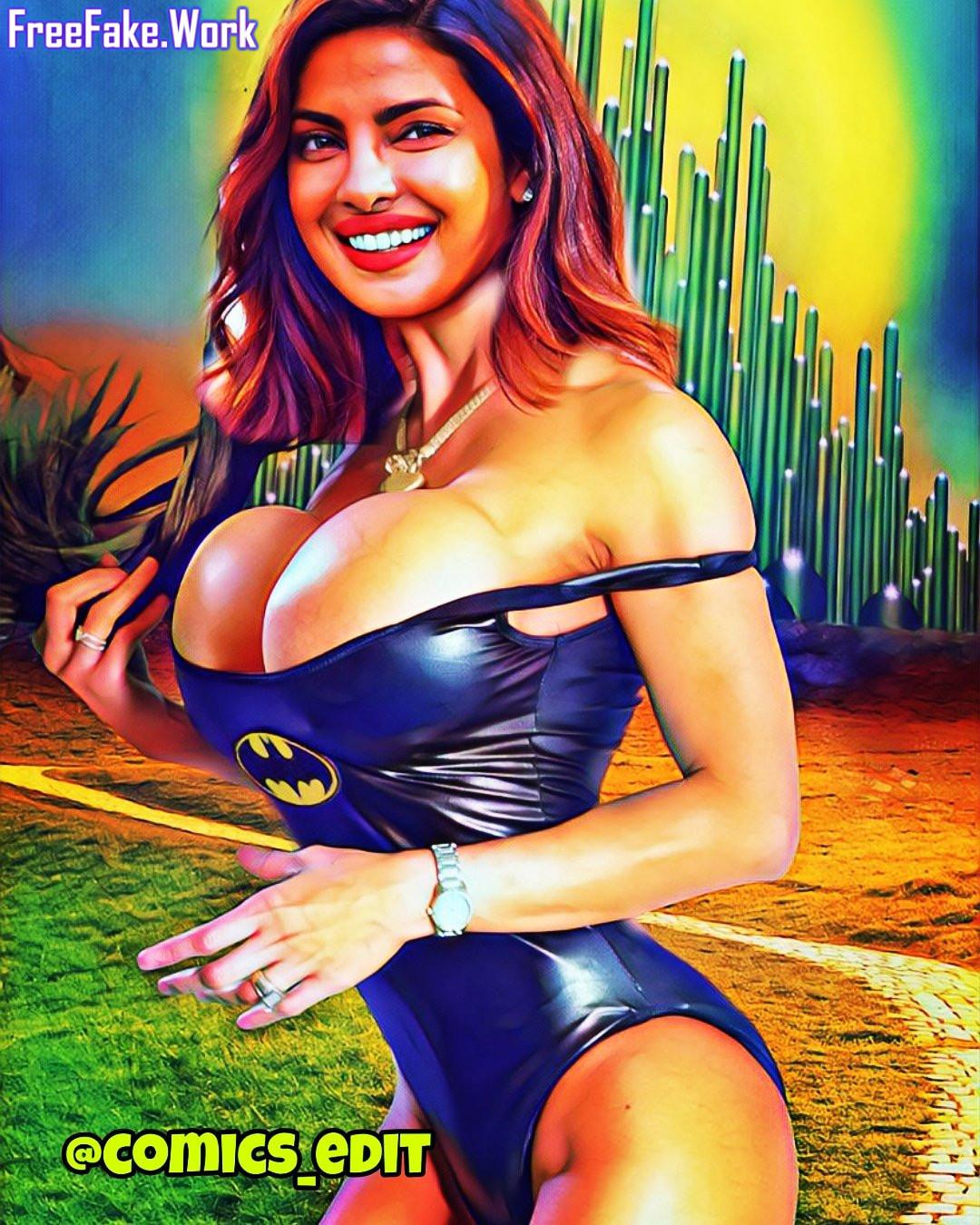 Priyanka-Chopra-big-fake-breast-cleavage-in-sexy-black-leather-bikini.jpg