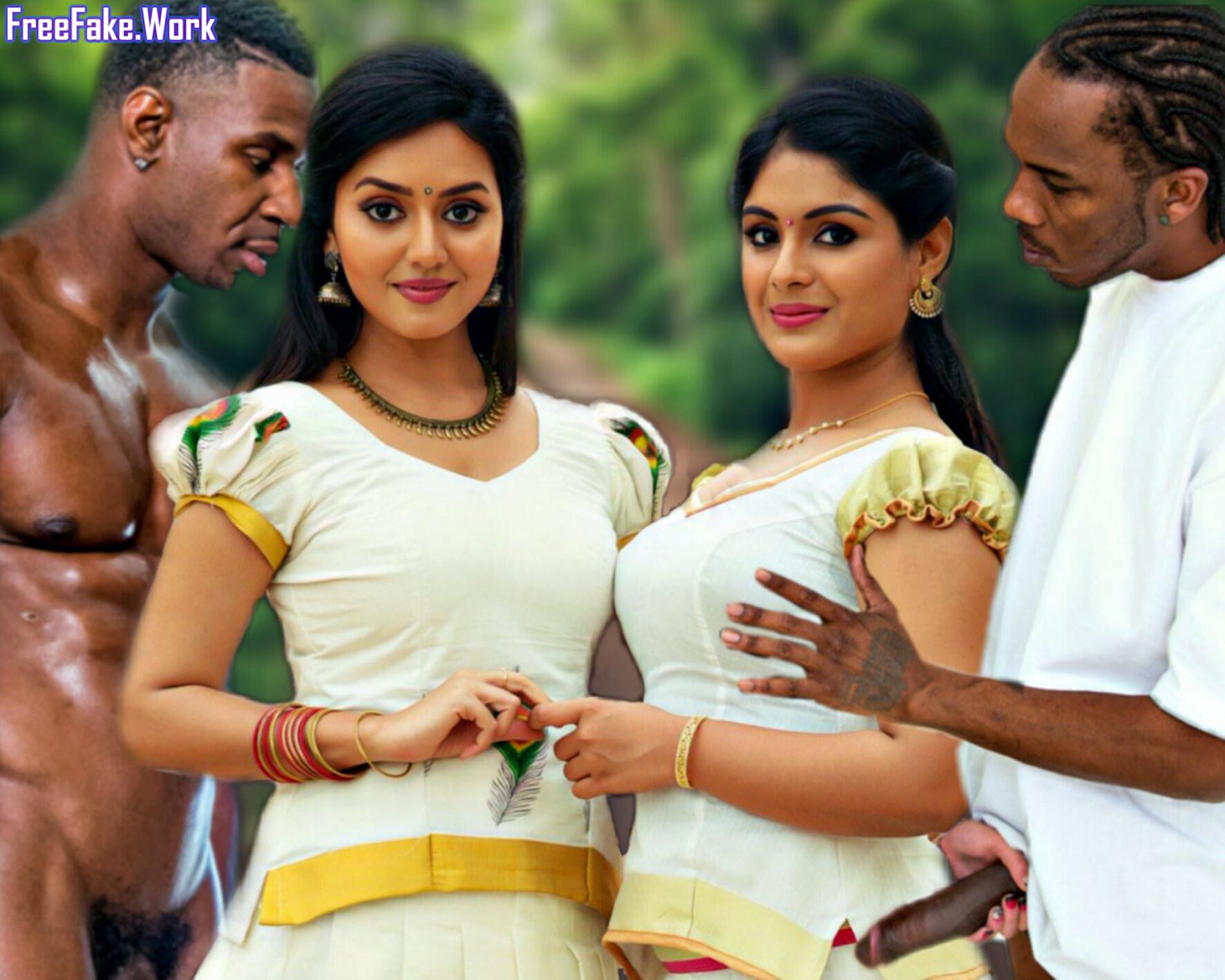 Mallu-lesbian-Samyuktha-Menon-and-Vidya-Pradeep-blacked-onam-sex.jpg
