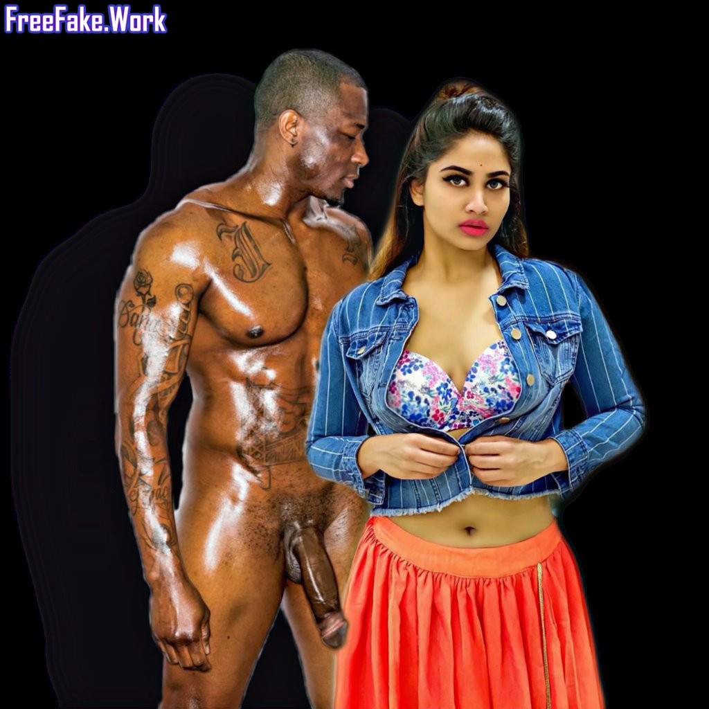Shivani-Narayanan-stripping-her-dress-for-getting-blacked-nude-navel-show.jpg