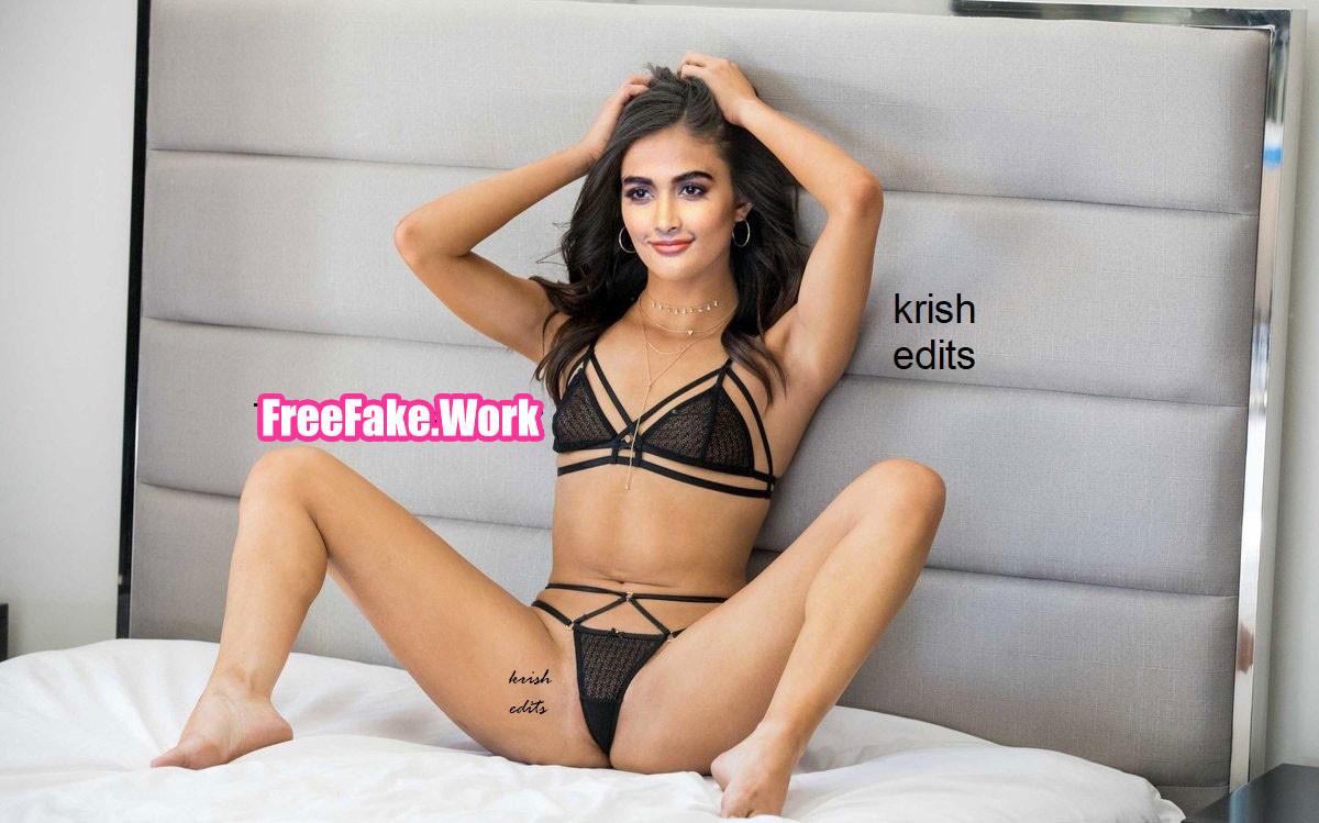 Pooja-Hegde-black-bikini-bed-room-photo-shaved-armpit.jpg